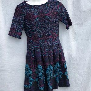 Julian Taylor New York fit flare stretch Dress 10